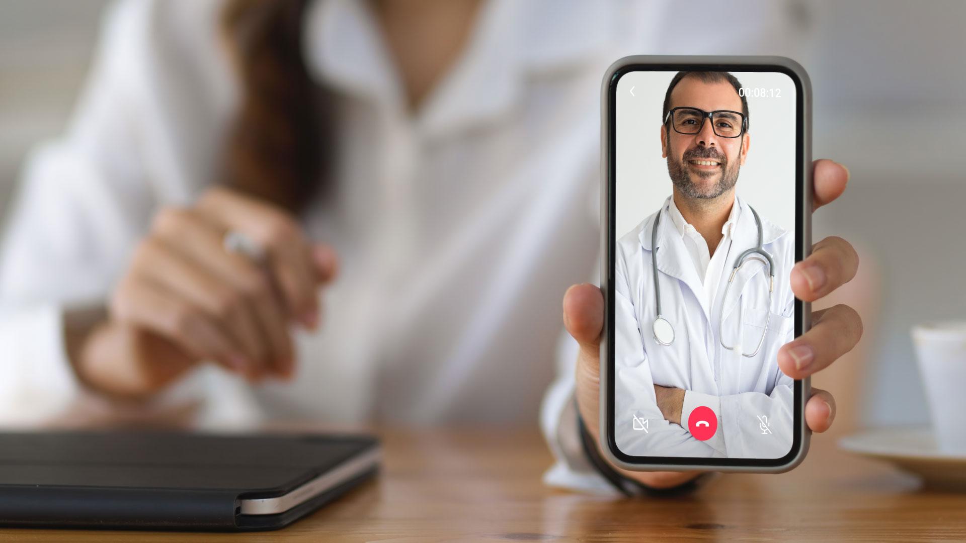 Está sem plano de saúde? Realize uma consulta médica online!